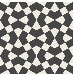 Seamless pattern arabic geometric texture vector