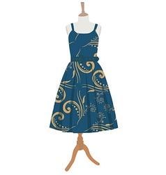 Vintage dress vector image vector image
