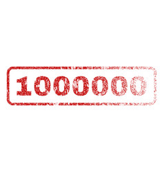 1000000 rubber stamp vector image vector image