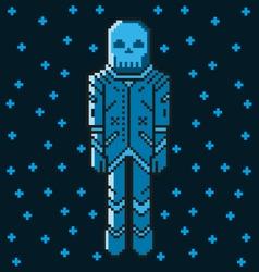 Astronaut 8 bit vector