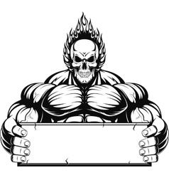 Bodybuilder vector
