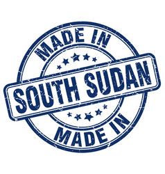 made in south sudan vector image