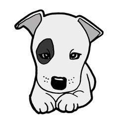 Puppy dog vector