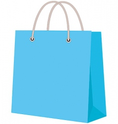 Paper carrier bag vector