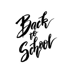 Back to school banner design vector