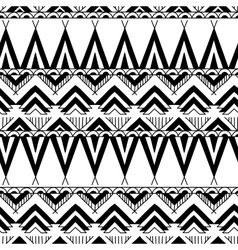Ethnic ornamental textile seamless pattern vector image vector image