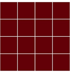 Grid square red background vector