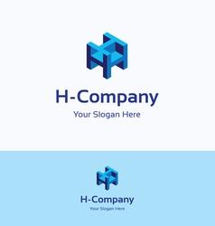 H company logo vector