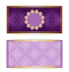 Royal template luxury invitation vector