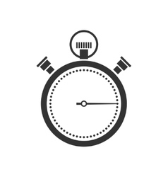 stopwatch or chronometer icon vector image vector image