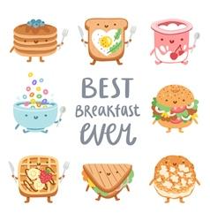 Best breakfast ever vector