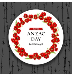 Anzac day dark background vector