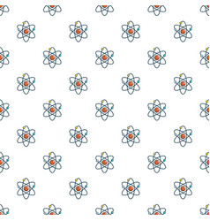 Atom pattern seamless vector