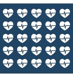 Heart medical cardiology vector