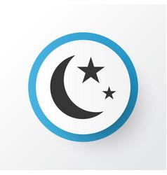 Isha icon symbol premium quality isolated nacht vector