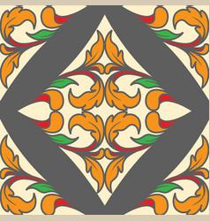 poker diamond as pattern vector image vector image