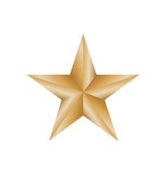 Star award medal vector