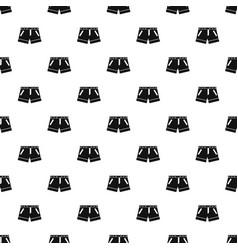 shorts pattern vector image