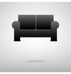 Sofa icon vector
