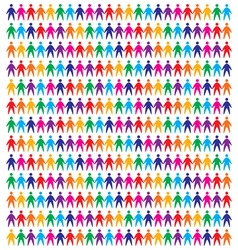 icons people background vector image