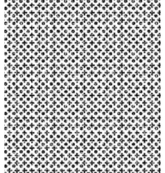 Black and white grunge pattern with circles and vector image