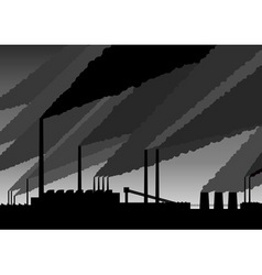 factory vector image