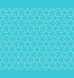 Seamless bright fun abstract ornament pattern vector