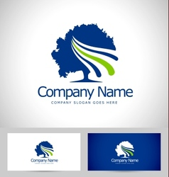 Tree logo design creative vector