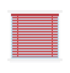 Window jalousie shutter background curtain blinds vector