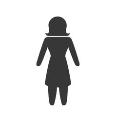 Woman icon pictogram design graphic vector