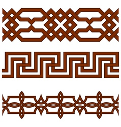 Ornate borders vector