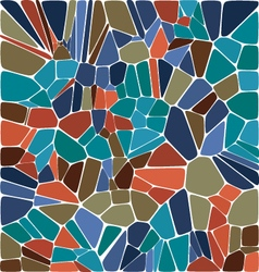Tile abstract composition with ceramic geometric s vector