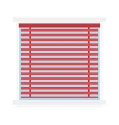 Window jalousie shutter background curtain blinds vector