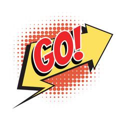 Go comic word vector