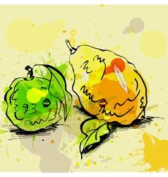 grunge zest vector image