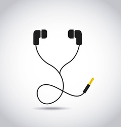 Music headset vector