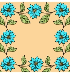Plants and flowers vector