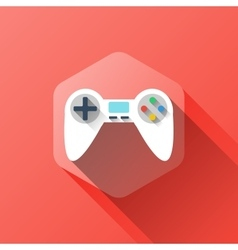Gamepad symbol design vector