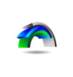Power signal logo vector
