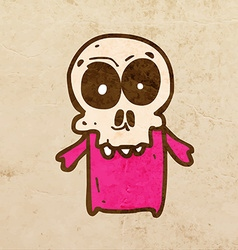 Skeleton Cartoon vector image vector image