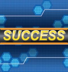 Success hitech vector