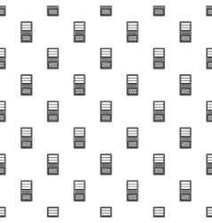 System unit of computer pattern simple style vector
