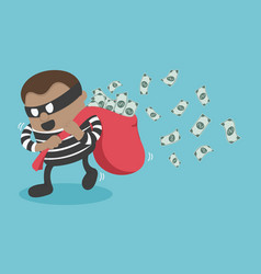 thieves stealing money vector image