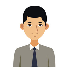 Young man with elegant clothes vector