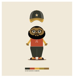 Hip hop toy vector