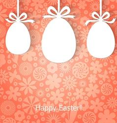 egg gift vector image