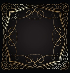 Decorative border 0601 vector