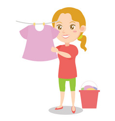 character of mother style design collection vector image vector image