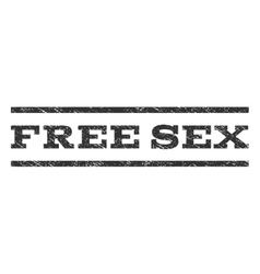 Free sex watermark stamp vector