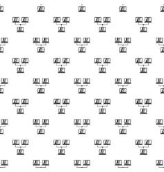 Lan pattern simple style vector